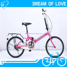 fashionable high quality with aluminum bicycle frame city bike bicycle 16 inch