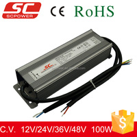 0-10V,1-10V dimmalbe constant voltage dimmable 12v 100w led driver