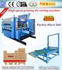 High speed corrugated carton 2 3 4 color flexo printing machine/flexo printing slotting machine prices CE & ISO9001 Certificate