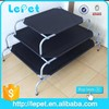 Christmas sales Oxford Durable Elevated Raised Pet Cot iron outdoor dog bed
