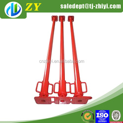 Long service life dipping paint telescopic construction jack