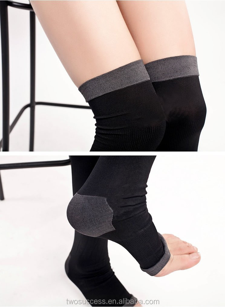 colorful magic Fat burning stockings stovepipe pressure slim leg sleep compression socks.jpg