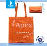 Fashion folding promotion bag Ad bag custom shopping