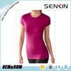 sexy cotton tight fit short sleeve t shirts for women wholesale