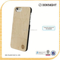Engraving Logo Wood bamboo Case For Apple Iphone 6