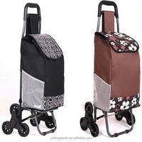 Custom Foldable Supermarket Hand Trolley
