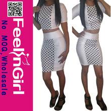 2014 wholesale sexy short beautiful mature women bandage dress