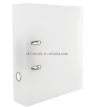 a4 two ring lever mechanism frosted lever arch file