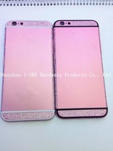 For iPhone 6 6 plus color diamonds housing cover,accessories for iphone 6