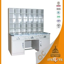 Modern Furniture Design Pharmacy Equipment Display Steel Filing Cabinet/Medical Cupboard