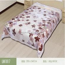 Popular branded cotton blanket with stitch edge