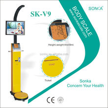 SK-V9 weight/height /fat Weighing Scale Pakistan