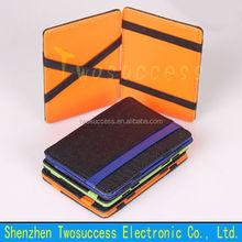 Elastic Magic Wallet Money Clip Leather Magic Wallet