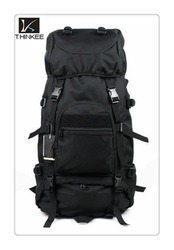 large capacity new design BLACK Military 60L CAMPING HIKING MOUNTAIN COMPUTER BACKPACK