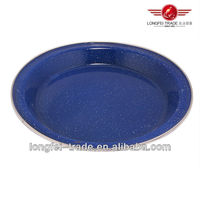 wholesale metal enamel plate