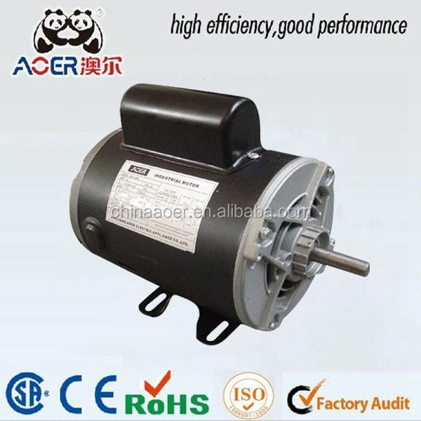Capacitor motor efficiency 28 images permanent split for Single phase motor efficiency