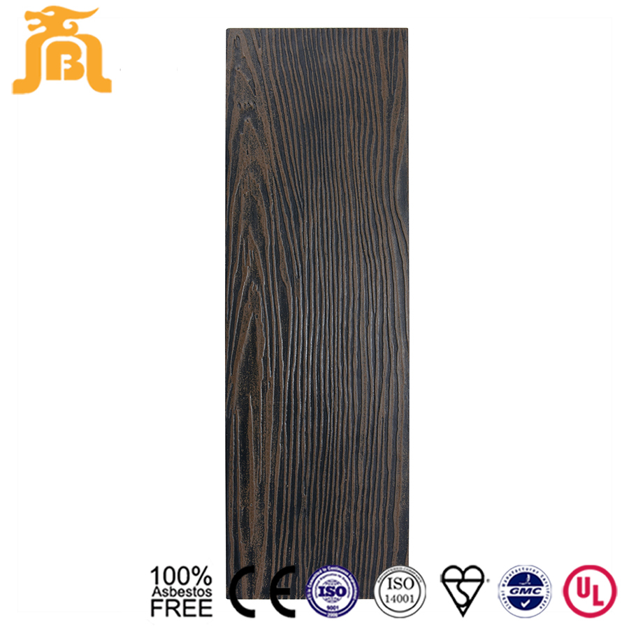 Mineral Board Siding : Mineral fiber wood grain hover cement board buy