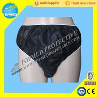 HOT! Nonwoven disposable underwear , black woman wearing sexy panties