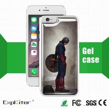 Golden supplier design images crystal mobile case beer