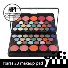 Private label cosmetics unique Naras Pad 28color glow in the dark eyeshadow
