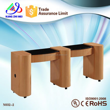 double portable Nail Table/Manicure Tables /Fixed Massage Table N032-2