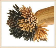5A grade Qingdao Manufacture prebonded hair Virgin Remy Human Hair Keratin Hair Extension,1g/s 100g/pack Color I Tip Hair