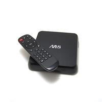 Wholesale Quad Core Android 4.4 M8 Smart TV box Amlogic S802 M8 2.0GHz XBMC EM8 Quad Core Google Android 4.4 TV Box