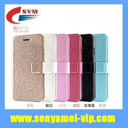 For iPhone 6 Mobile Phone Leather Cover Case Wallet Top Leather Flip Cases