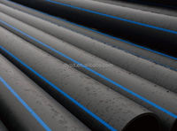 ISO 4427 Dn20mm-1200mm PE 100 HDPE pipe FOR WATER SUPPLY