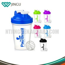 400ML Workout Smart Shake Gym Protein Shaker Cup Blender Bottle With Whisk Ball HOT!