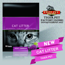 Bentonite Cat Litter All Natural Used For Pet Cleaning cat litter