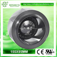 High Static Pressure HVAC Centrifugal Small Radial Fans