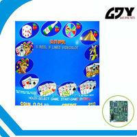High quality Mega Jack slot game board,casino game board for gambling machine