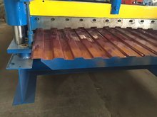 Construction Building Roofing Material Coated Red Color Metal Roof Tile