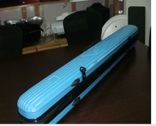 Vacuum forming portable plastic bag for musical instrument,fishing rod bag box