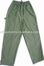 mens autumn/winter casual pants,chemical fibre