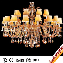 Lobby chandelier crystal decorative ceiling lamp light and lighting
