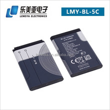 1020mah 3.7v low price mobile phone battery for nokia bl-5c
