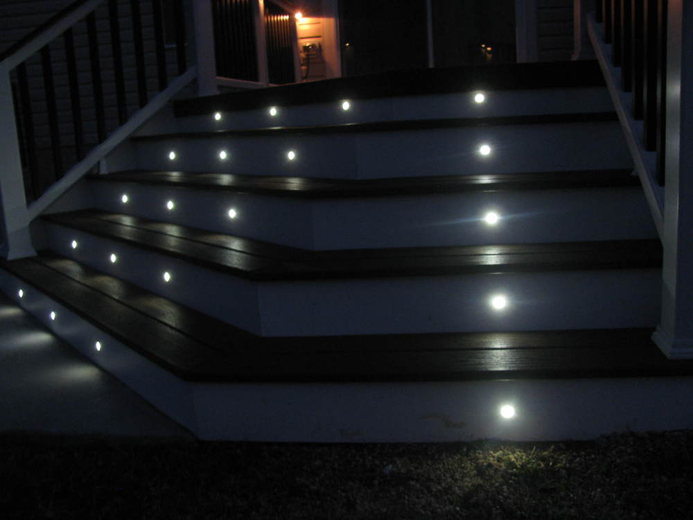 dots led deck ights walkover led patio lights view dek dots led deck