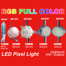 full color led sign RGB led pixel light for outdoor amusement park