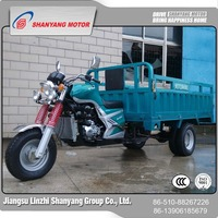 Best prices newest water cooled supplier electric cargo tricycle with five wheel