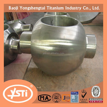 titanium ball valve assembly valve ball and titanium Bonnet