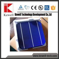 Superior quality 156x156mm 3BB 6x6 cheap mono solar cell chip