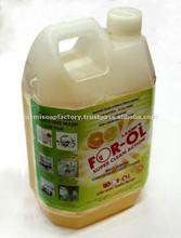 líquido limpiador orgánico