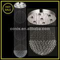 Decorativa de cristal pingente lâmpadas de cristal bola cair