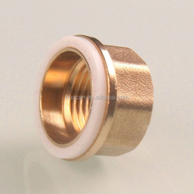 Low price brass parts copper pipe connector brass pipe for Copper pipe cost