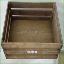 Handmade Large Vintage Wood Gift Packaging crates