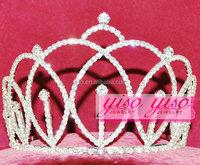 cheap simple hair accessories flower headband combs tiara