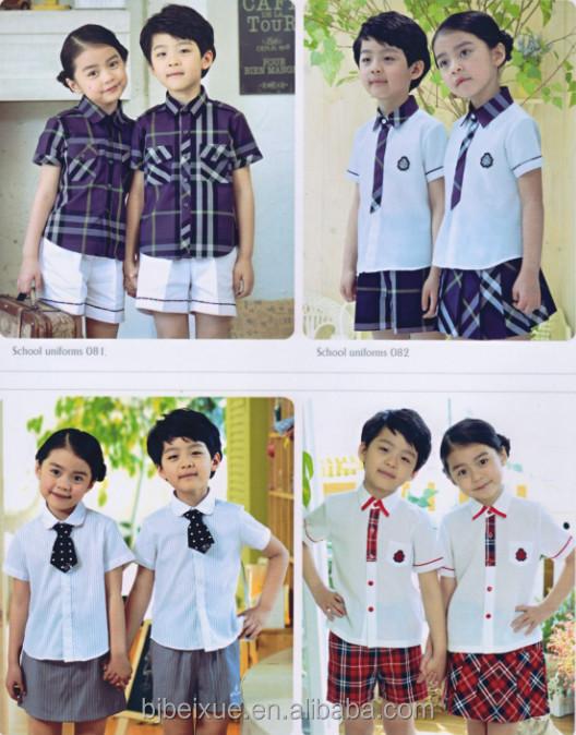 wholesale primary school uniform designs latest school