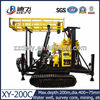cost effective 200m portable crawler mounted water well drilling and rig machine